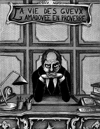 """Agnès Pelletier pour """"La Vie des gueux amadouée en proverbe"""""""